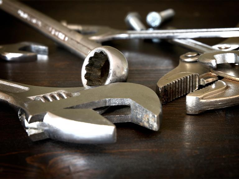 klucze metalowe